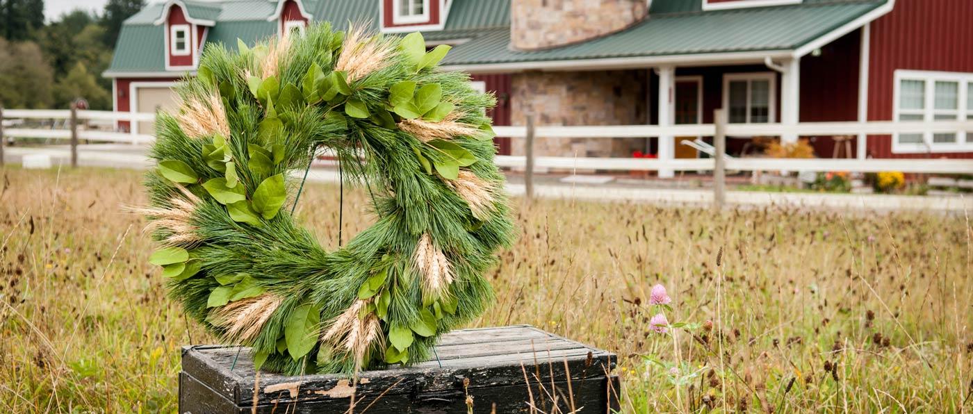 fresh christmas wreaths centerpieces holiday garland lynch creek farm